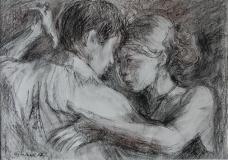 Tangopaar-_ungerahmt